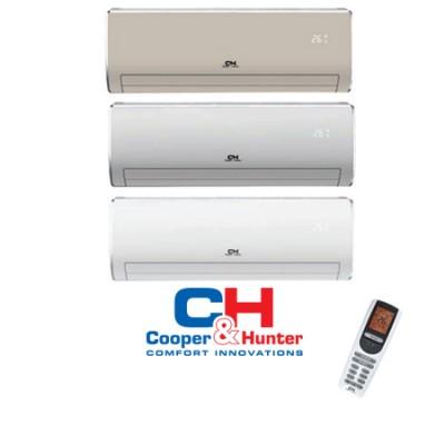 Oro kondicionierius/šilumos siurblys (oras-oras) Cooper&Hunter Arctic Design Inverter: CH-S09FTXS-B, W, M -25°C