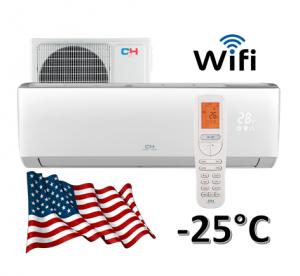 Oro kondicionierius/šilumos siurblys (oras-oras) Cooper&Hunter ARCTIC Inverter: CH-S24FTXLA-NG (-25°C)