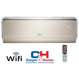 Oro kondicionierius/šilumos siurblys Cooper&Hunter VIP Inverter: CH-S18FTXHV-B -30°C
