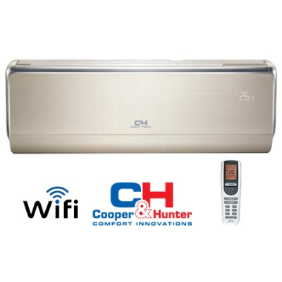 Oro kondicionierius/šilumos siurblys Cooper&Hunter VIP Inverter CH-S12FTXHV-B -30°C