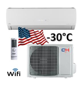 Oro kondicionierius/šilumos siurblys (oras-oras) ICY inverter CH-S24FTXTB2S-W (-30°C)