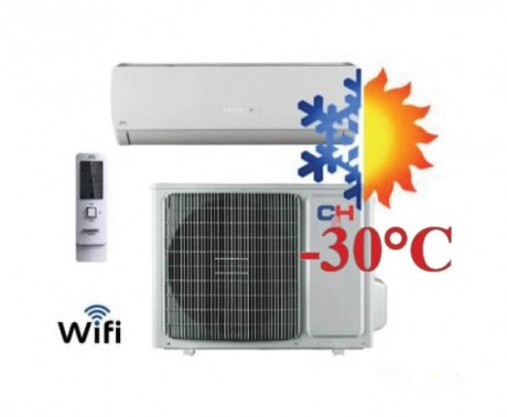 Oro kondicionierius/šilumos siurblys (oras-oras) ICY inverter CH-S12FTXTB2S-W (-30°C)