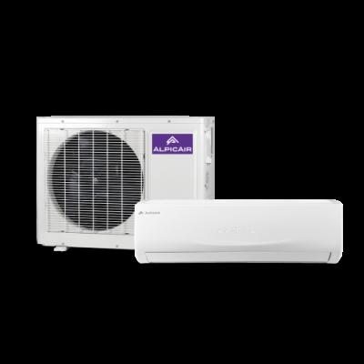 Oro kondicionierius/ šilumos siurblys (oras-oras) Alpic Air NORDIC Split Inverter AWI/AWO-35HPDC1F
