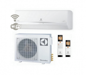 Oro kondicionierius/ šilumos siurblys (oras-oras) Electrolux VIKING Super DC EACS-I18HVI/N3 inverter (-30°C)