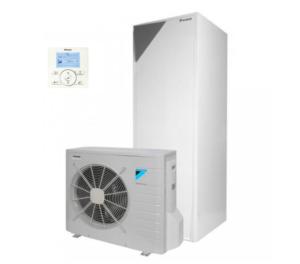 Šilumos siurblys oras-vanduo Daikin ERLQ006CV3 + EHVH08S26CB9W su integruota vandens talpa 260L