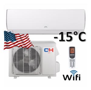 Oro kondicionierius/šilumos siurblys (oras-oras) VERITAS inverter CH-S24FTXQ (-25°C)