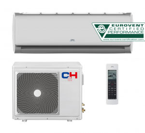 Oro kondicionierius/šilumos siurblys (oras-oras) TERRA inverter CH-12FHCP (-15°C)