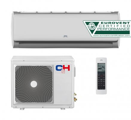 Oro kondicionierius/šilumos siurblys (oras-oras) TERRA inverter CH-24FHCP (-15°C)