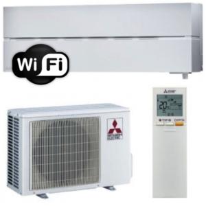 Oro kondicionierius/šilumos siurblys oras-oras Mitsubishi MSZ-LN25VGV/MUZ-LN25VGHZ (tekstūrinė balta)