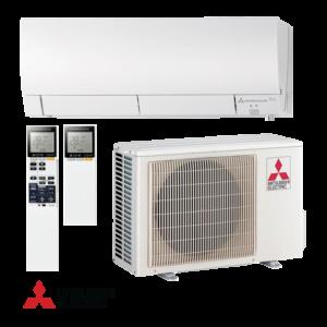 Oro kondicionierius/šilumos siurblys oras-oras Mitsubishi MUZ-FH25VEHZ/MSZ-FH25VE (-25°C)