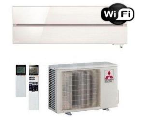 Oro kondicionierius/šilumos siurblys oras-oras Mitsubishi MSZ-LN25VGW/MUZ-LN25VGHZ (balta spalva) (-25°C)