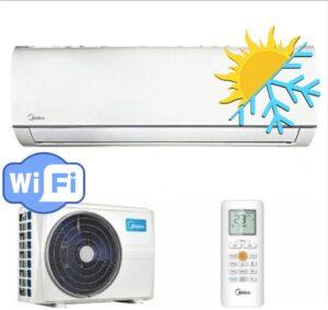 Oro kondicionierius MIDEA inverter MSMAAU-09HRDN1/MOBA03-09HFN1 (-15°C)