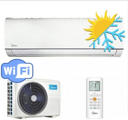 Oro kondicionierius MIDEA inverter MA-12NXD0-I/MA-12N8D0-O (-15°C)