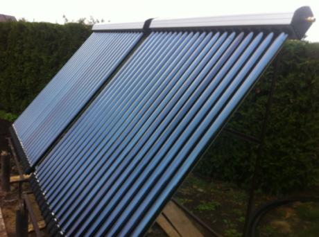 Vakuuminiai saulės kolektoriai Heat Pipe 20