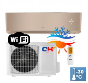 Oro kondicionierius/šilumos siurblys Cooper&Hunter SUPREME GOLD Inverter CH-S24FTXAM2S-GD (-30°C)