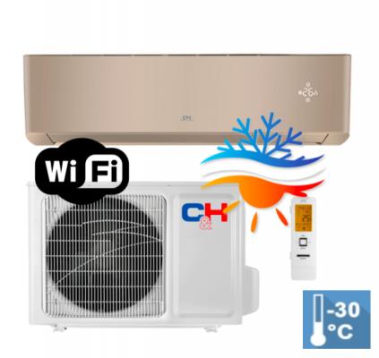 Oro kondicionierius/šilumos siurblys Cooper&Hunter SUPREME GOLD Inverter CH-S12FTXAM2S-GD (-30°C)