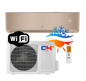 Oro kondicionierius/šilumos siurblys Cooper&Hunter SUPREME GOLD Inverter CH-S12FTXAM2S-GD -30°C