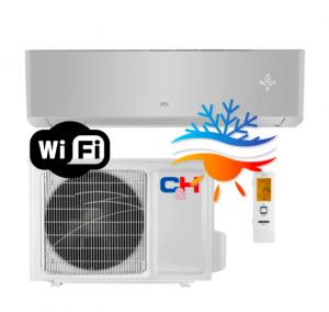 Oro kondicionierius/šilumos siurblys Cooper&Hunter SUPREME SILVER Inverter CH-S24FTXAM2S-SC (-30°C)