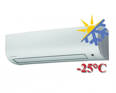 Oro kondicionierius/šilumos siurblys (oras-oras) Daikin OPTIMISED HEATING 4 Split Inverter FTXTP35K (-25°C)