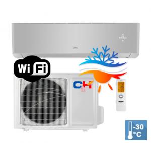Oro kondicionierius/šilumos siurblys Cooper&Hunter SUPREME SILVER Inverter CH-S09FTXAM2S-SC (-30°C)