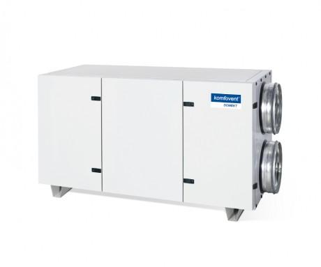 Domekt CF 700 H rekuperatorius su priešsroviniu plokšteliniu šilumokaičiu (horizontalaus pajungimo)