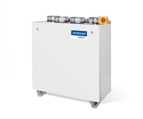 Domekt CF 700 V rekuperatorius su priešsroviniu plokšteliniu šilumokaičiu (vertikalaus pajungimo)