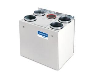 Domekt R 400 V rekuperatorius su rotaciniu šilumokaičiu (vertikalaus pajungimo) be pultelio