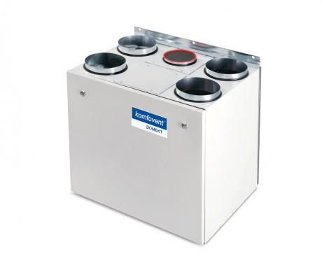Domekt R 400 V rekuperatorius su rotaciniu šilumokaičiu (vertikalaus pajungimo)