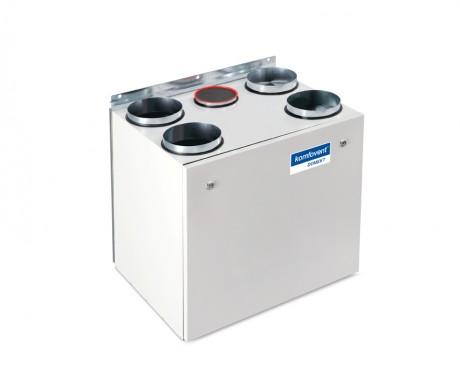 Domekt R 450 V rekuperatorius su rotaciniu šilumokaičiu (vertikalaus pajungimo)