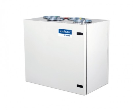 Domekt R 500 V rekuperatorius su rotaciniu šilumokaičiu (vertikalaus pajungimo) be pultelio