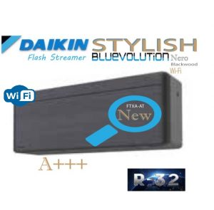 Oro kondicionierius/ šilumos siurblys (oras-oras) Daikin STYLISH Split Inverter FTXA20AT/RXA20A (-15°C)