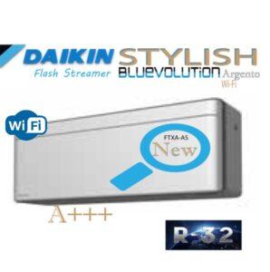 Oro kondicionierius/ šilumos siurblys (oras-oras) Daikin STYLISH Split Inverter FTXA50BS/RXA50B (-15°C)