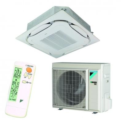 Oro kondicionierius/ šilumos siurblys (oras-oras) Daikin Split ROUND-FLOW Inverter FCAG50B/RXM50R (-20°C)