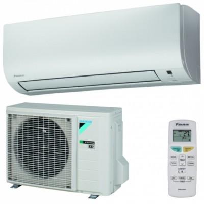 Oro kondicionierius/ šilumos siurblys (oras-oras) Daikin SENSIRA Split Inverter FTXF25A/RXF25A (-15°C)