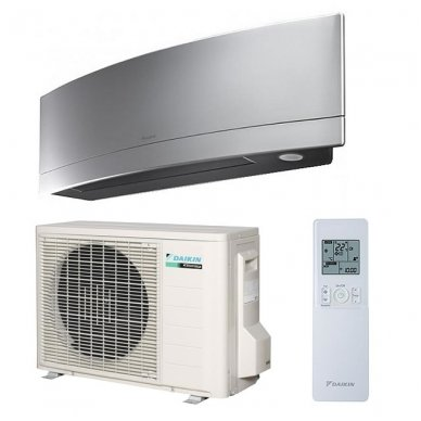Oro kondicionierius/ šilumos siurblys (oras-oras) Daikin EMURA Split Inverter FTXG25LS/RXLG25S (-25°C)