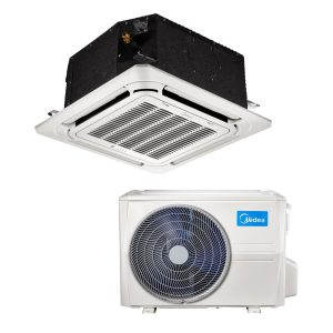 Kasetinis oro kondicionierius MIDEA COMPACT Inverter MCA3U-12FNXD0/MOU-12FN8-QD6 (-15°C)