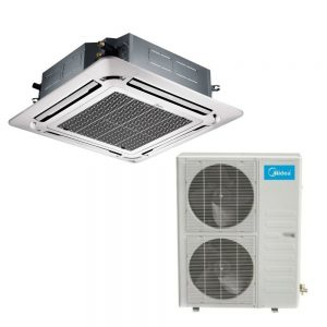 Kasetinis oro kondicionierius MIDEA Inverter MCD-48FNXD0/MOU-48FN8-R (-15°C)