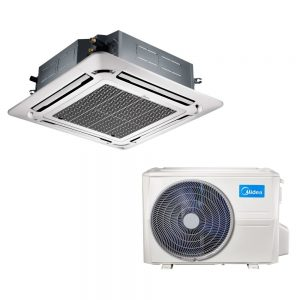 Kasetinis oro kondicionierius MIDEA Inverter MCD-55HRFN1/MOE30U-55HFN1 (-15°C)