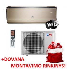 Šilumos siurblys Cooper&Hunter VIP Inverter: CH-S18FTXHV-B (-30°C) su MONTAVIMO RINKINIU!
