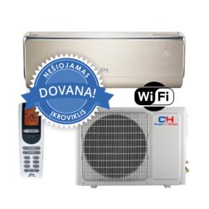 Šilumos siurblys Cooper&Hunter VIP Inverter: CH-S18FTXHV-B (-30°C) + DOVANA nešiojamas įkroviklis