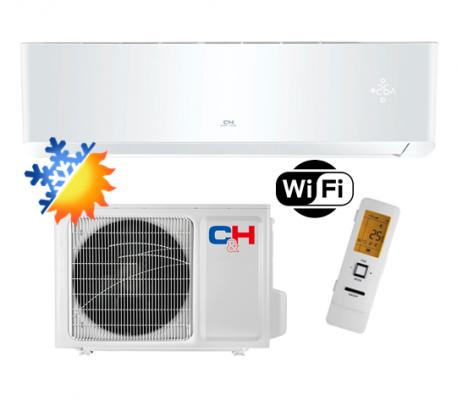 Oro kondicionierius/šilumos siurblys Cooper&Hunter SUPREME WHITE Inverter CH-S24FTXAM2S-WP (-30°C)