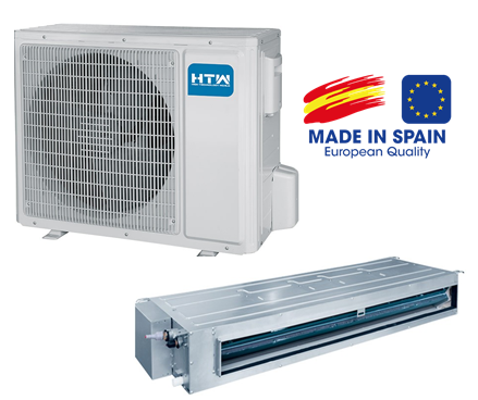 HTW kanalinis oro kondicionierius/šilumos siurblys oras-oras HTW-D-035L01R32 (-20°C)