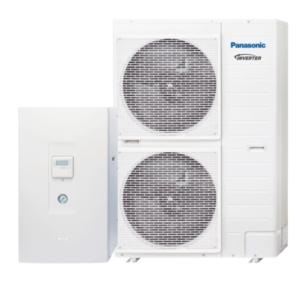 "Panasonic Aquarea T-CAP ""Bi-Bloc"" šilumos siurblys oras-vanduo KIT-WXC09H3E8 (-28°C) trifazis"