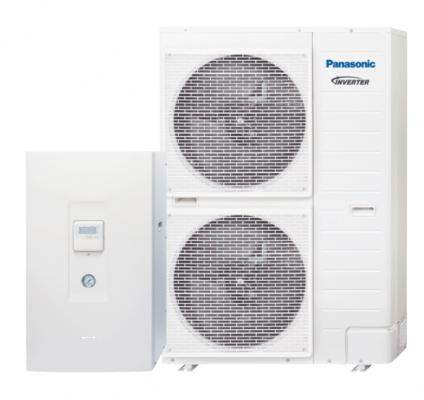 "Panasonic Aquarea T-CAP ""Bi-Bloc"" šilumos siurblys oras-vanduo KIT-WXC16H9E8 (-28°C) trifazis"
