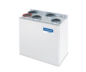 Domekt R 200 V rekuperatorius su rotaciniu šilumokaičiu (vertikalaus pajungimo) be pultelio
