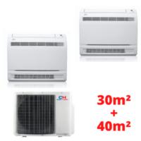 Oro kondicionieriai dviems kambariams