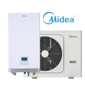 Midea M thermal šilumos siurblys oras-vanduo A100/CGN8-B / V10W/D2N8-B (-25°C)