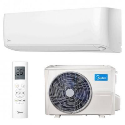Oro kondicionierius/šilumos siurblys oras-oras MIDEA OASIS PLUS inverter MSOPBU-12HRFN8-QRE6GW/MOB30-12HFN8-QRE6GW (-30°C)